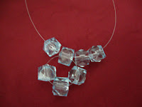 artesanato com pedras acrílicas