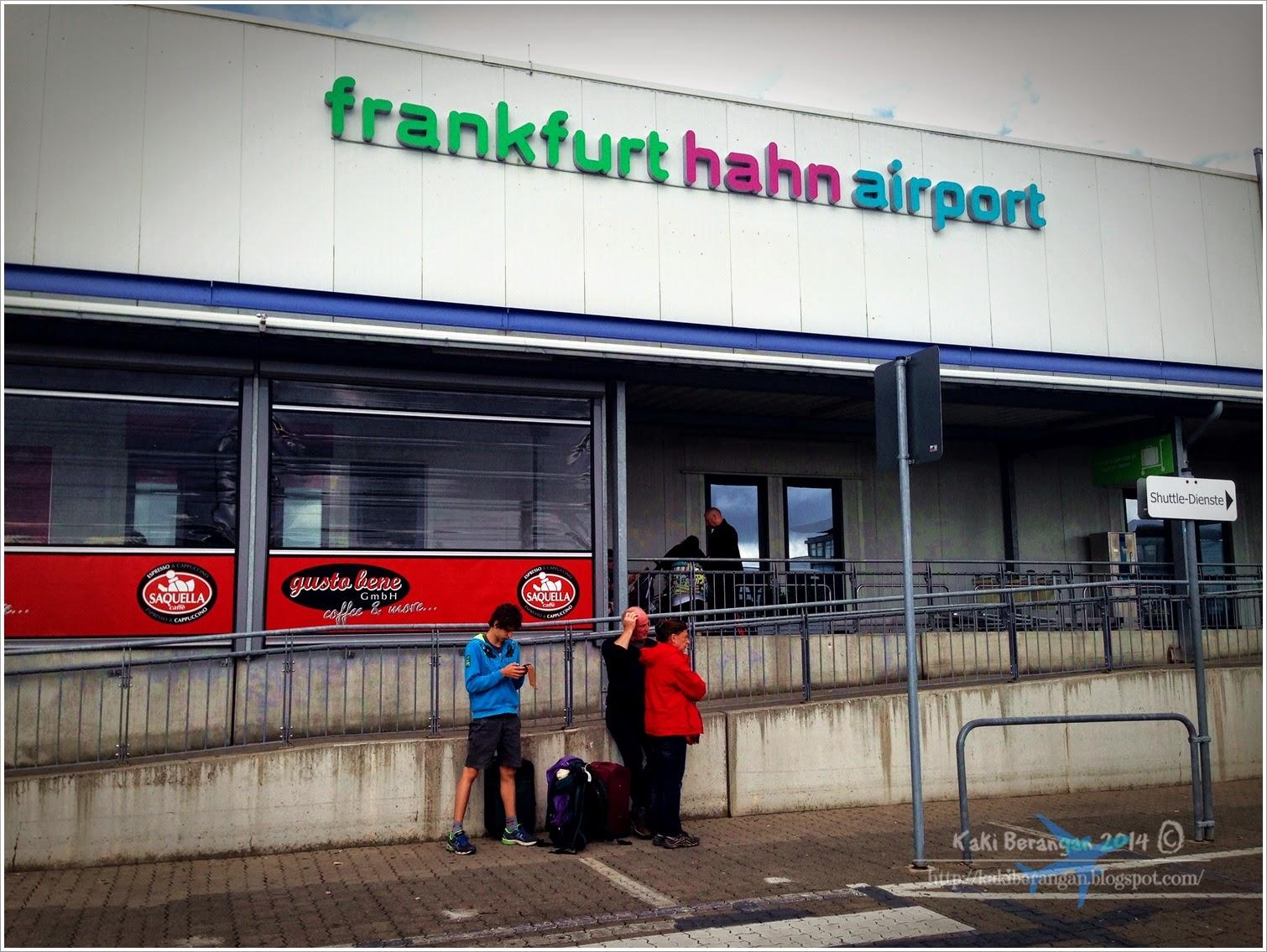 Bhg 1 Seharian di Frankfurt Jerman
