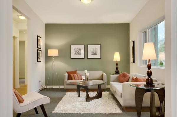 Ruang tamu rumah minimalis 2
