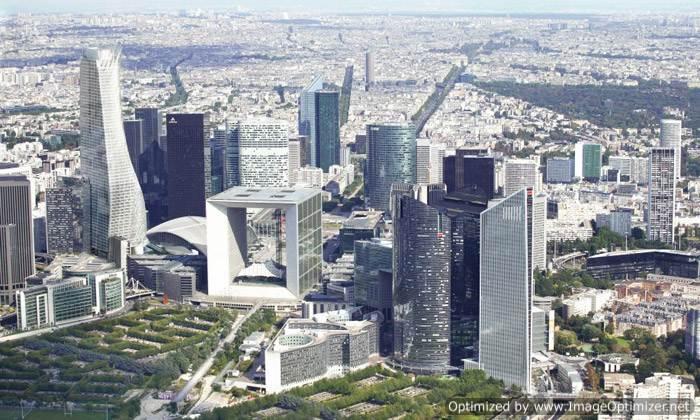 Paris Tour Phare skyscraper by Morphosis