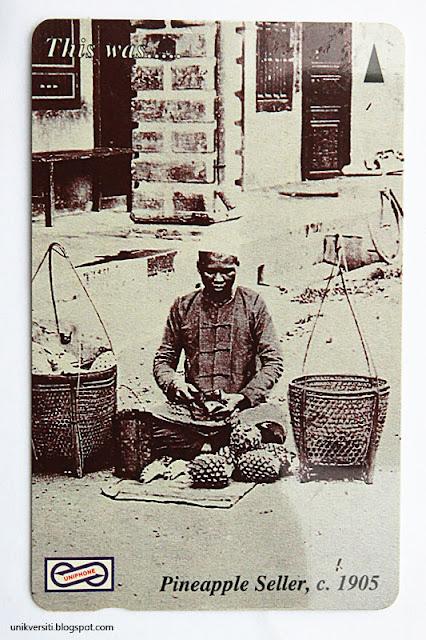 kad uniphone - Pineapple seller 1905