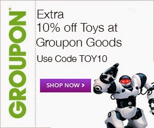 10% off 1 Toy Deal at Groupon Goods