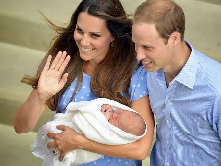 Fotos del Principe George, Hijo de Kate Middleton