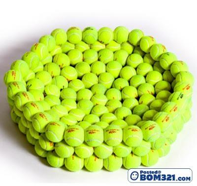 Seni Dari Bola Tenis