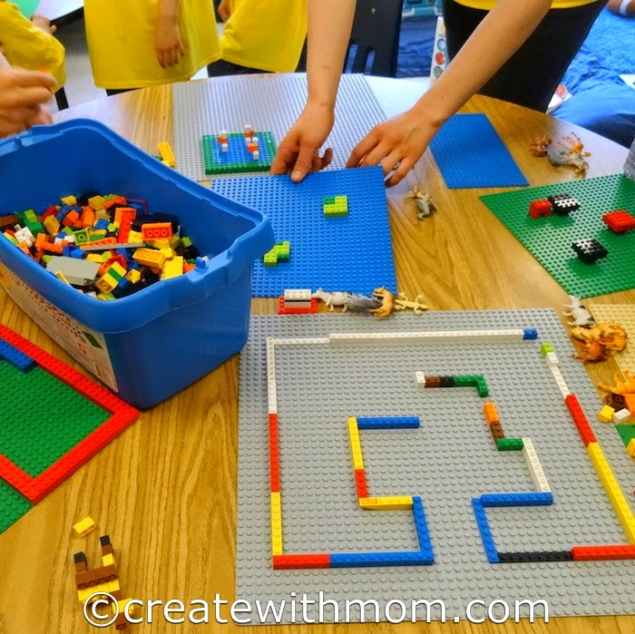 Create with mom ideas on things to do in the summer and for Creative lego ideas