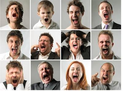 أنواع الغضب: ماذا يقول غضبك عنك؟ عضب angry people man woman boy girl anger