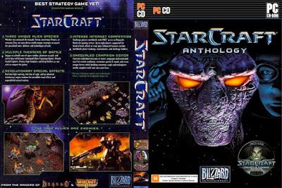 Jogo StarCraft Com Expansão Brood War PC DVD Capa