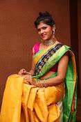 Sangeetha Kamath dazzling saree photos-thumbnail-4