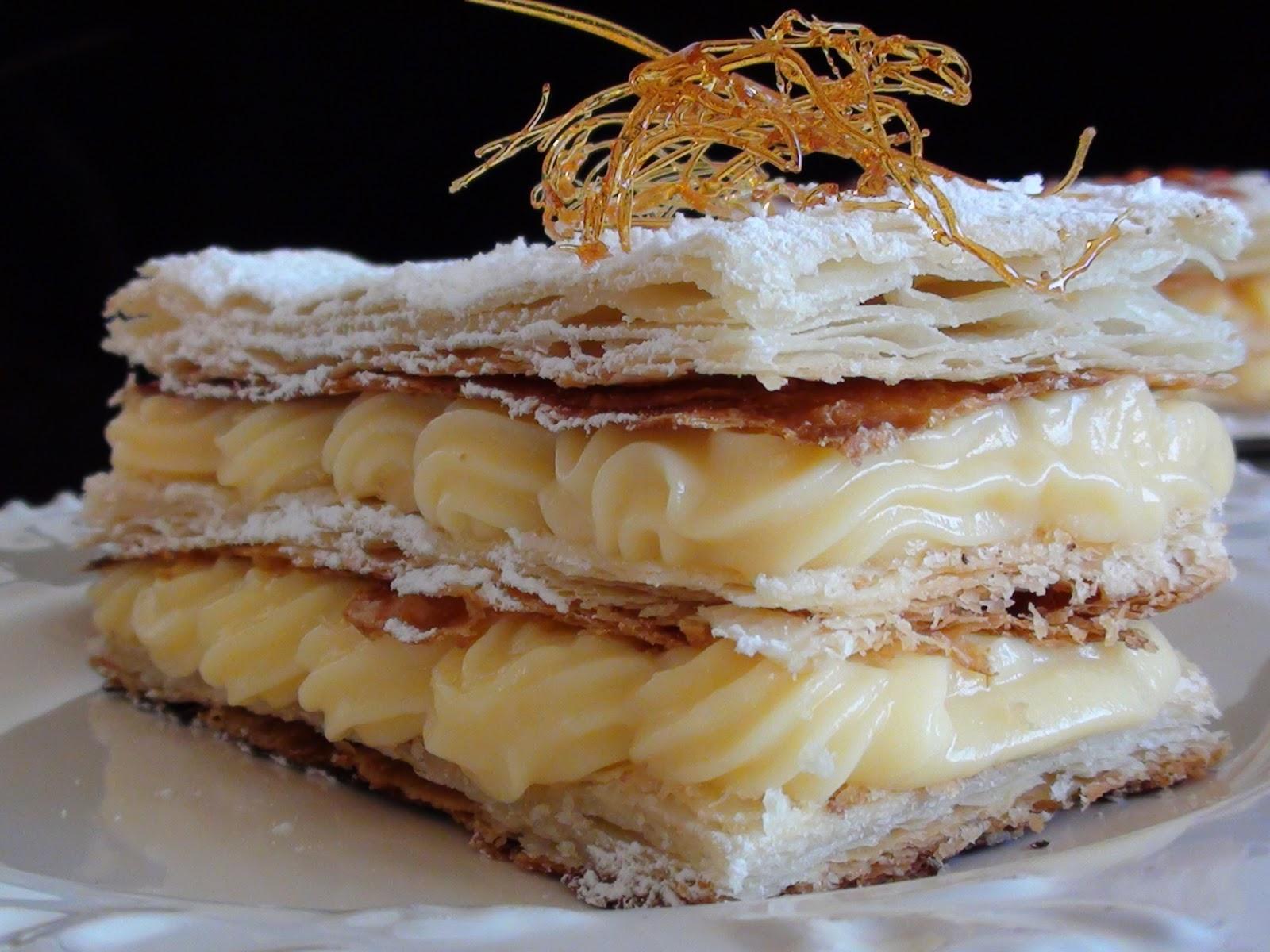 "Tort "" Mille-feuille"" de casa – Absolut delicios!"