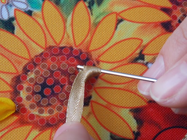 Crochet knit unlimited how to do ribbon embroidery