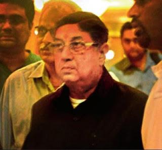 BCCI President N. Srinivasan