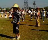 Niños de Colón, Matanzas en actividad deportiva.