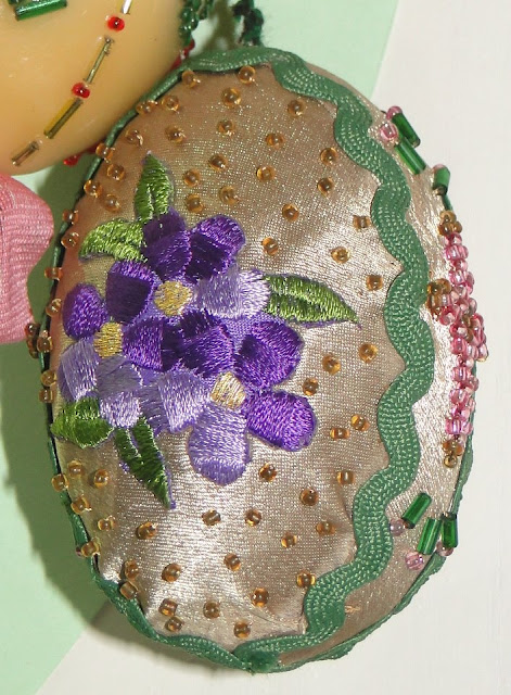 Embroidery, Appliqué and Beading on Easter Eggs, Museum in Kolomyia, West Ukraine
