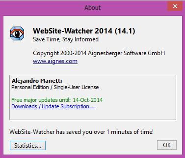 WebSite-Watcher+personal+editon