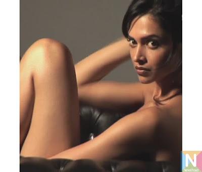 Deepika Padukone in towel