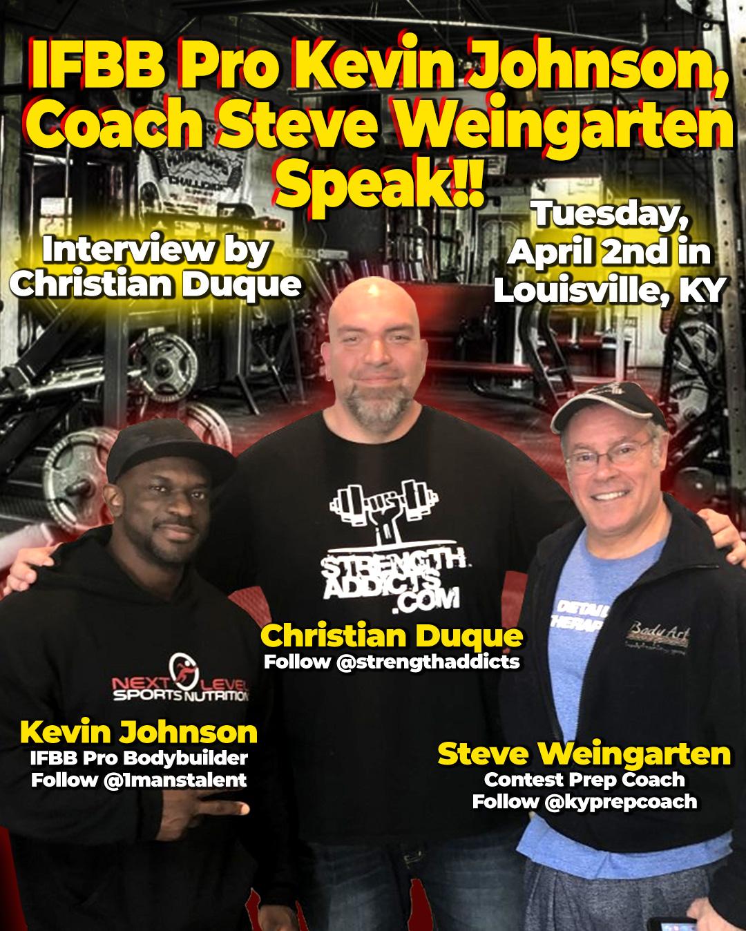 Kevin Johnson + Steve Weingarten