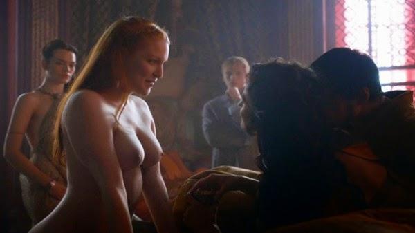 Compilação das cenas de sexo de Game of Thrones
