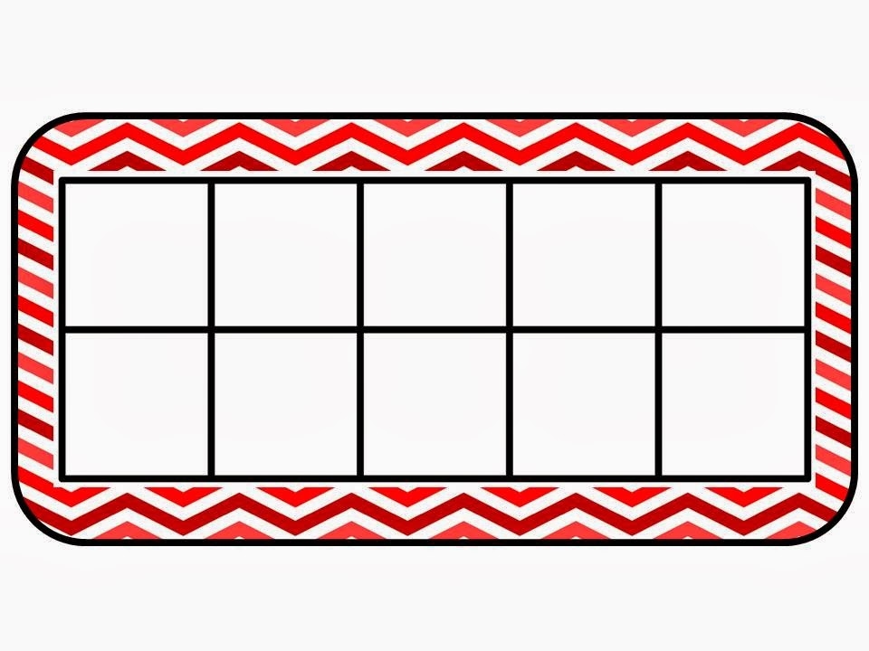 10 frame template printable - mackey 39 s classroom math work mats