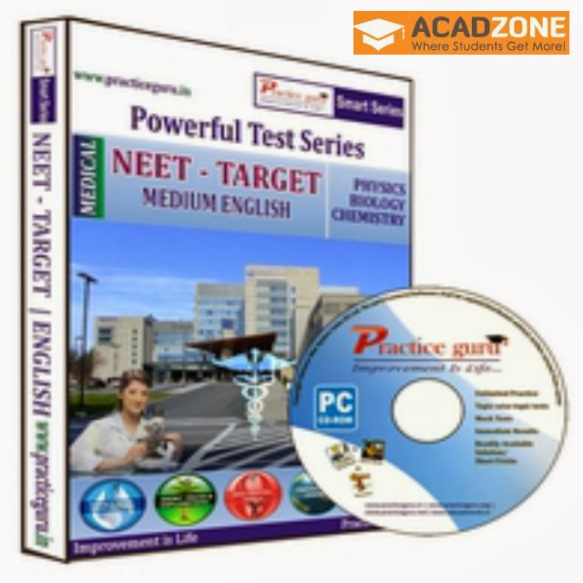 Powerful Test Series NEET Target Class 11 and 12 CD
