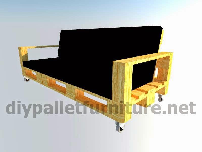 Kit de muebles para el jard n sof for Muebles exterior hechos con palets