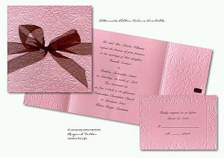 Invitaciones de Boda Color Rosado, parte 1