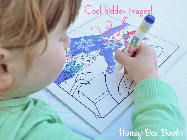 Find the hidden pictures as you color in with Crayola Color Wonder