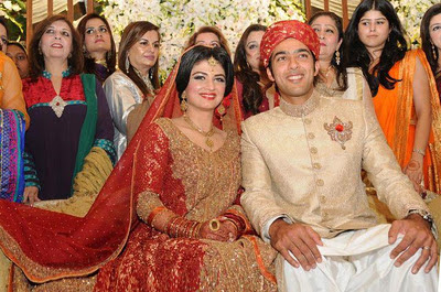 Aisam ul Haq Wedding Barat Pictures