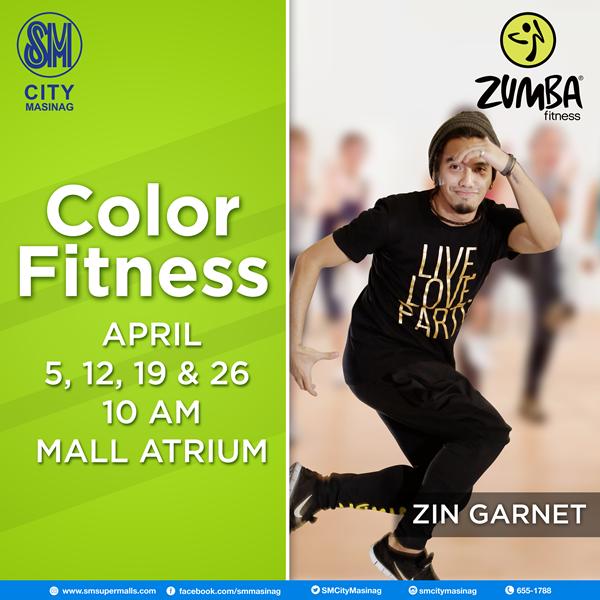 Color Fitness With Zin Garnet