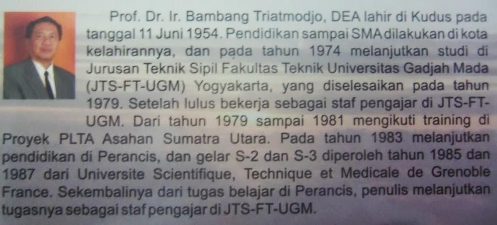 UGM; Guru besar Teknik