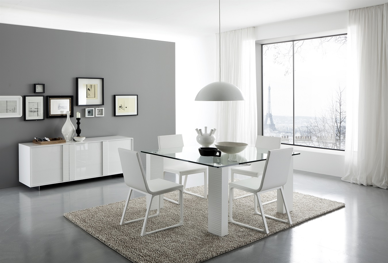 Imagenes De Living  edores Modernos on white counter height dining table