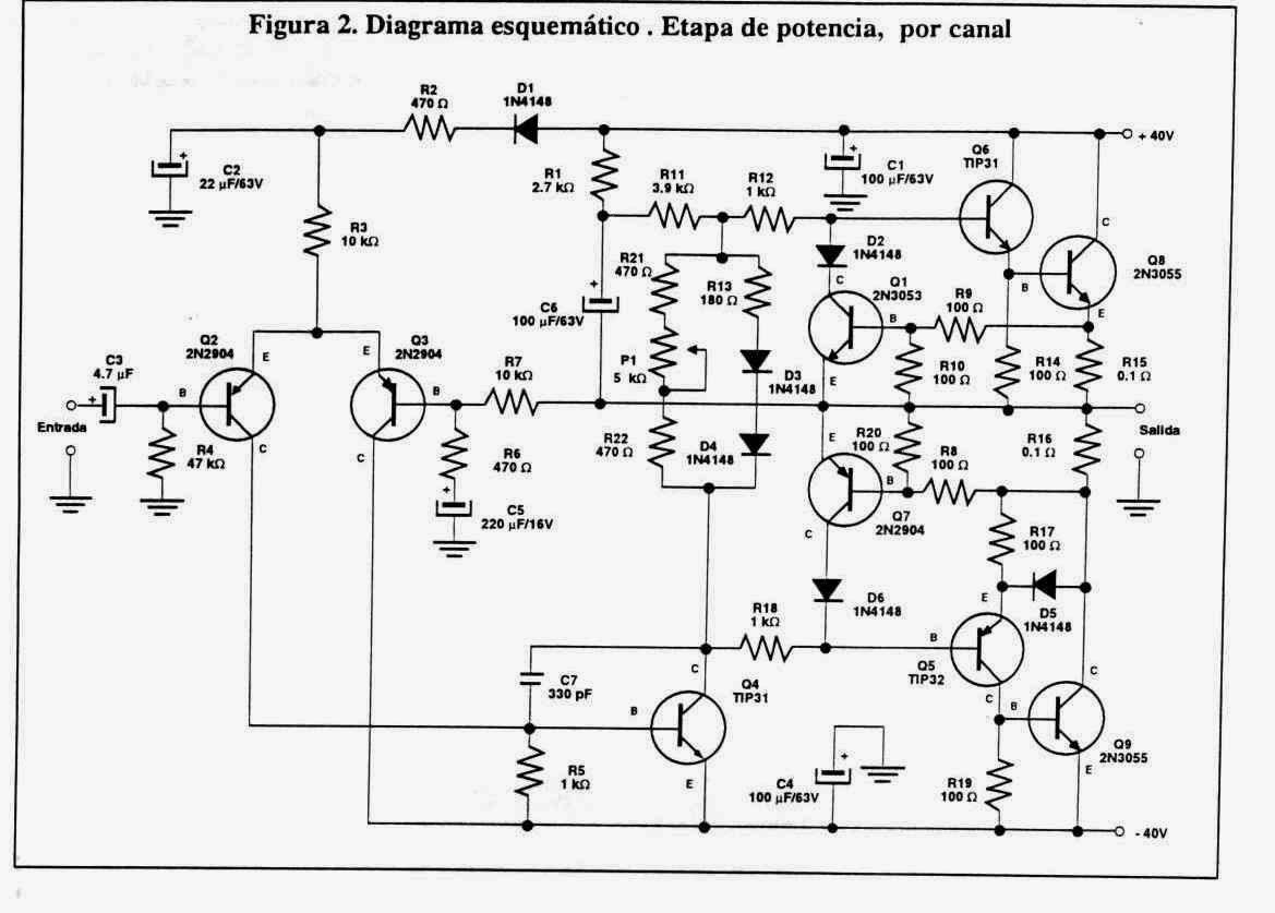 amplificador estreo de 400 watts con stk4050 amplificador con 2
