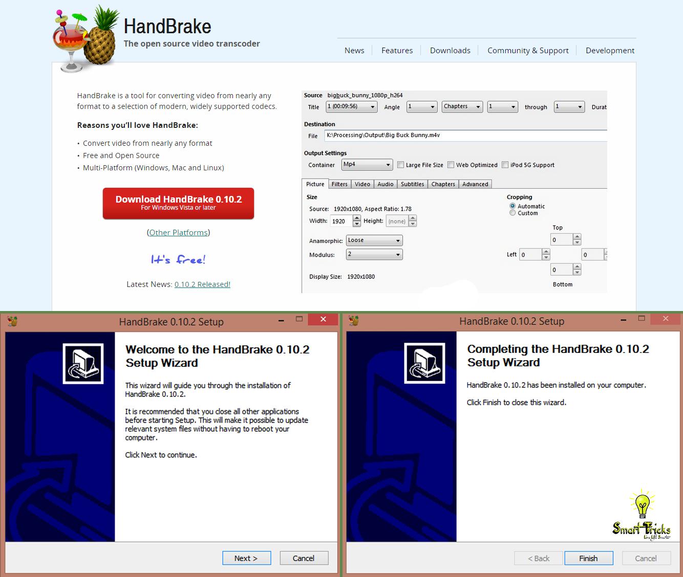 HandBrake download  SourceForgenet