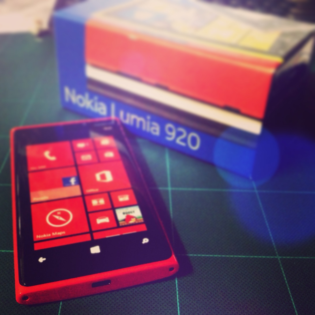 JUST WON A NOKIA LUMIA 920 FROM TECHDUOLOGY TECHDUOLIVE 2012