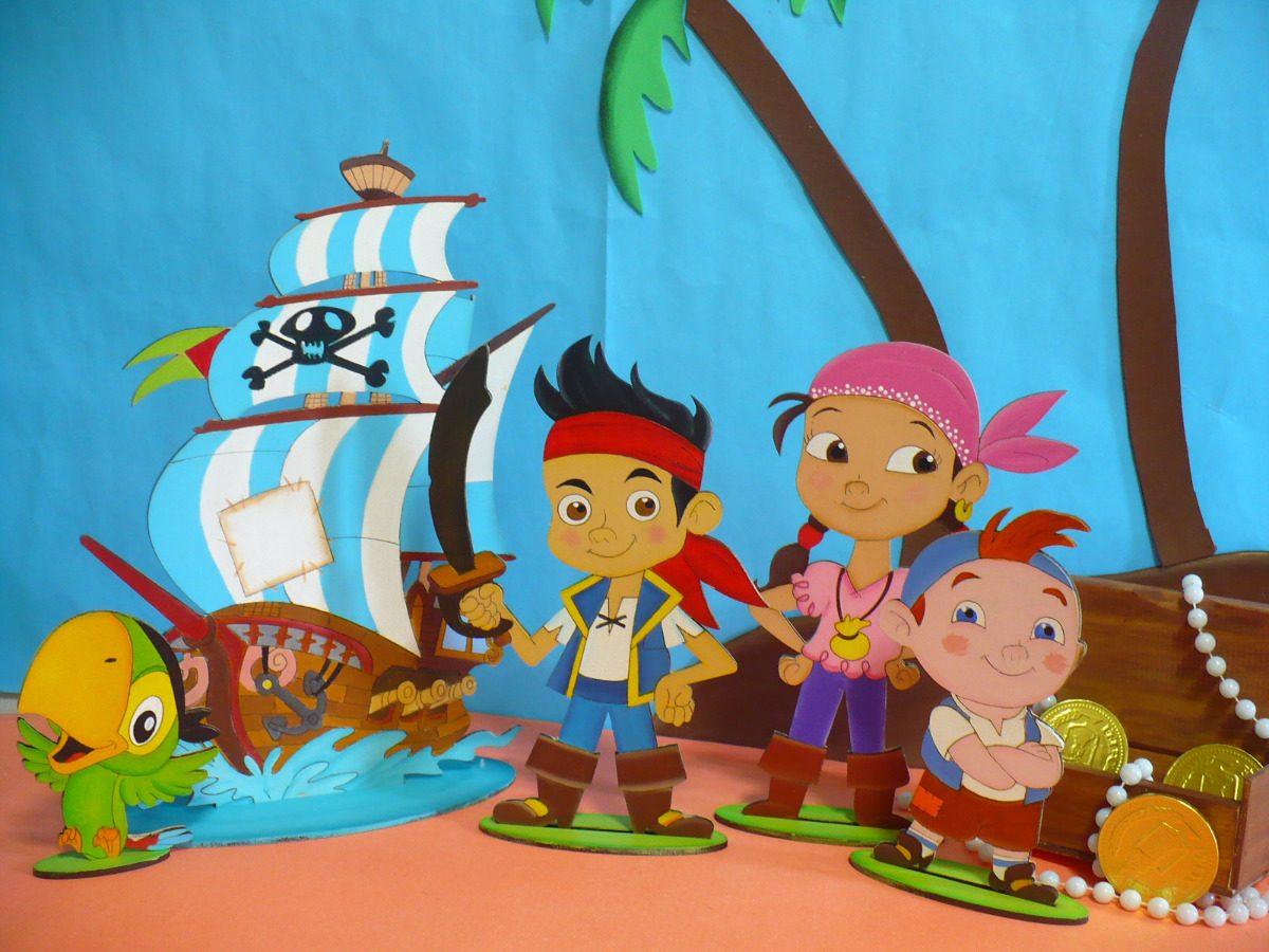 jake y los piratas de nunca jamas para colorear e imprimir