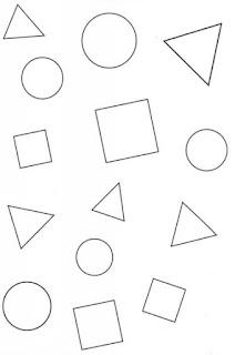 dibujos de las figuras geometricas para colorear