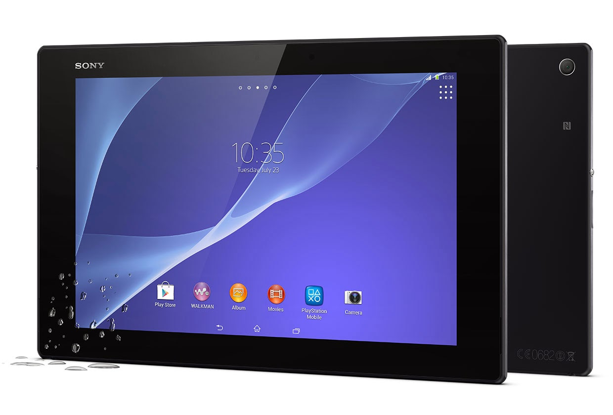 Sony Xperia Z2 Tablet: Gallery