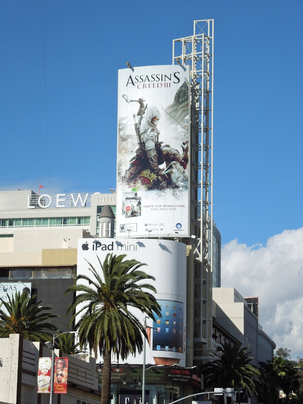 Assassins Creed 3 billboard