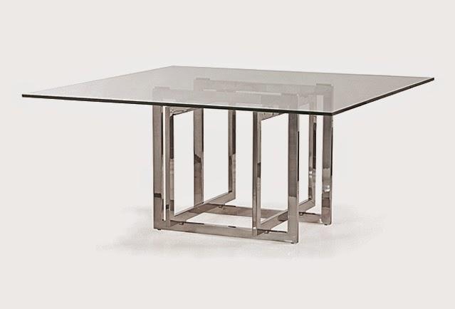 O que h por tr s do lar doce lar ideias 2 sala de jantar for Pedestales metalicos para mesas