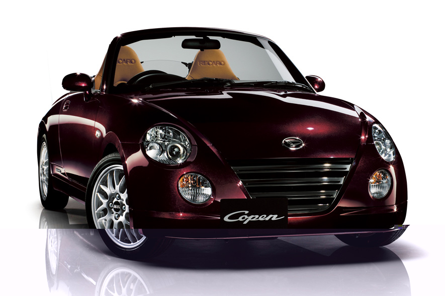 Daihatsu Copen Convertible review ~ Auto Car