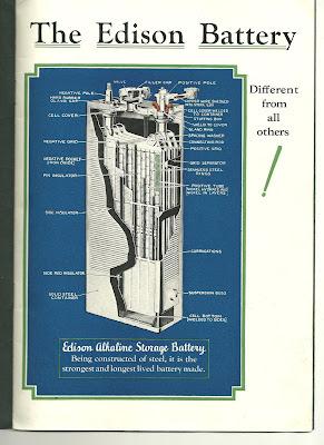 Thomas Edison Battery Powered Train Long Island