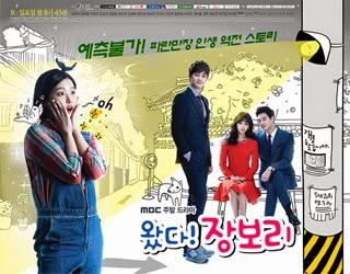 KOREA DRAMA Come! Jang Bo Ri