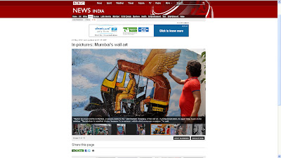 Hemant Sonawane covered by BBC News, UK