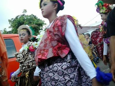Karnaval Memeriahkan HUT Kabupaten Batang Jwa Tengah Indonesia