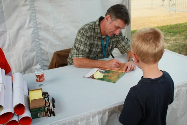 Mark Teague National Book Festival via www.happybirthdayauthor.com