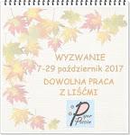Wyzwanie do 29-10-2017
