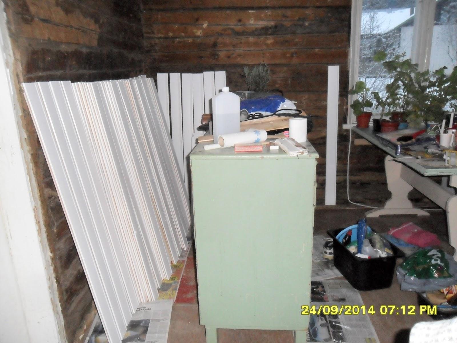 Erikasmäen Torppari Keittiön remontointi jatkuu