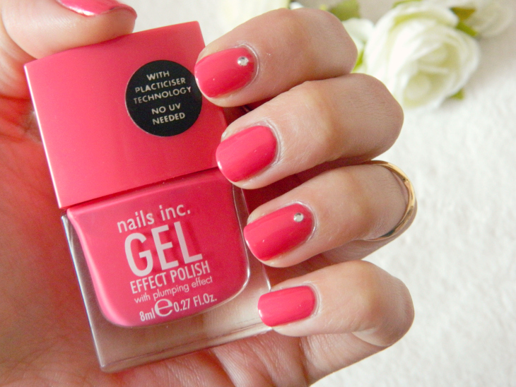 Love From Lisa Nails of the Week Nails Inc Bright Coral