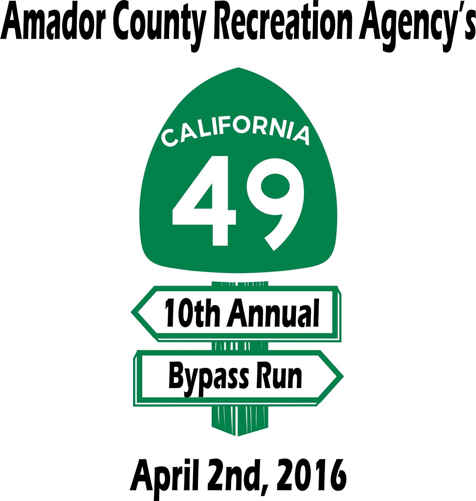 10th Annual 49er Bypass Run - Sat April 2