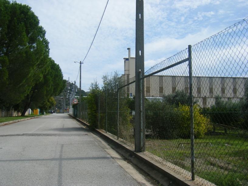 Barragem de Belver - estrada