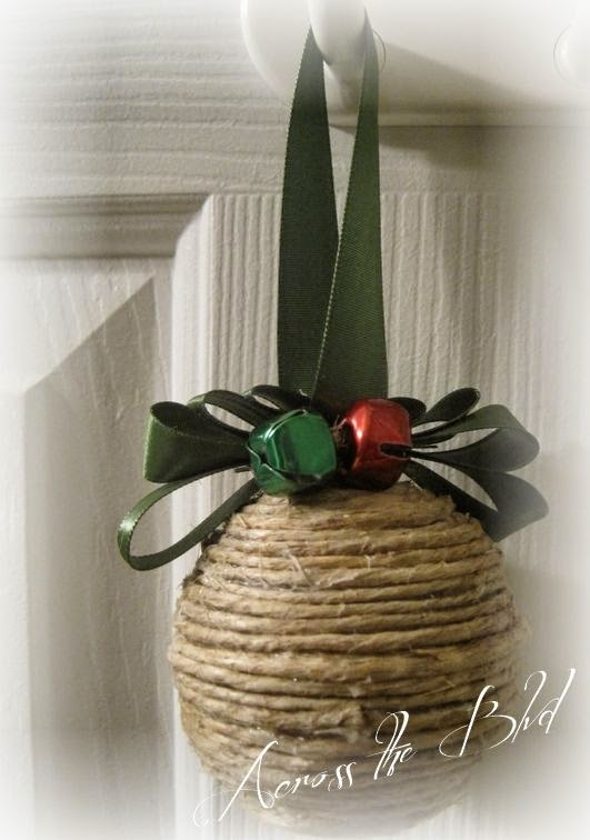Jute Covered Ornament